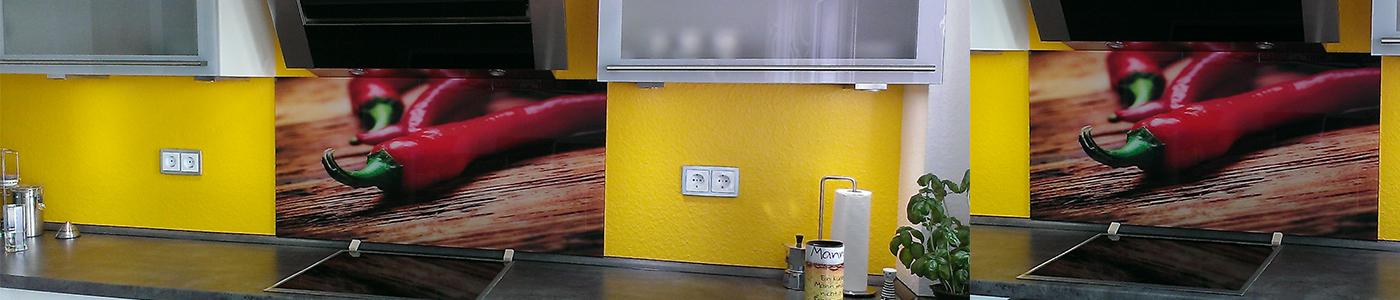 Küchenrückwände Glaserei Frankfurt