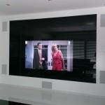 Fernsehwand